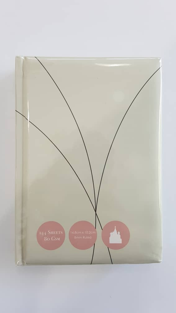 A6 Notebook Hard Cover Simple C 10 Dot
