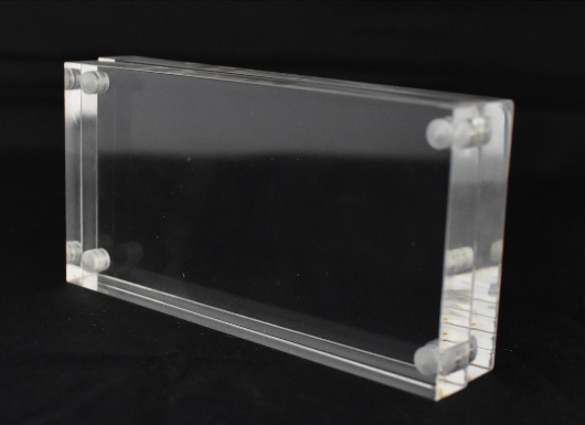 Acrylic Clear Magnetic Sandwich Frame Name Card Display (10mm+10mm)