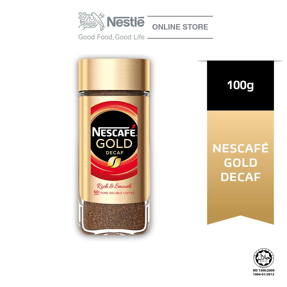 Nescafe Signature Gold Decaf Jar 100g