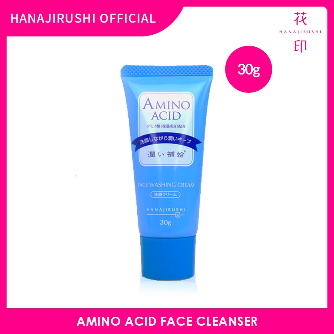Hanajirushi Amino Acid Face Cleanser Travel Pack 30g