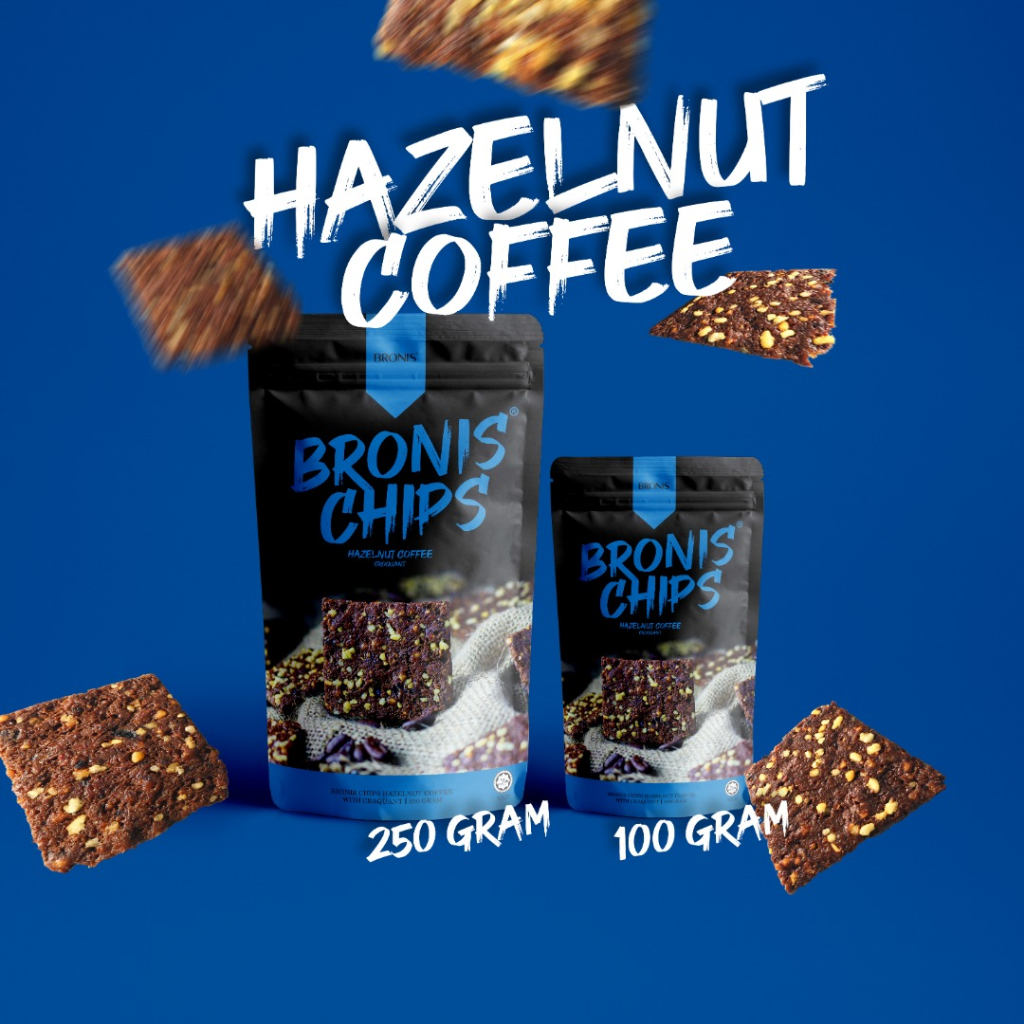 Bronis Chips Hazelnut Coffee