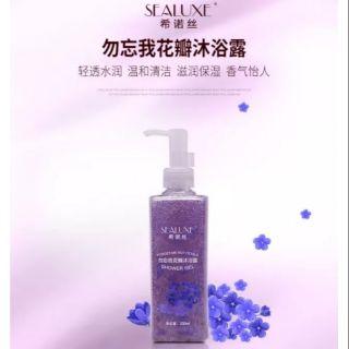 Sealuxe Forget Me Not/Rose Petals Showed Gel 200ml希诺丝勿忘我/玫瑰花瓣沐浴露