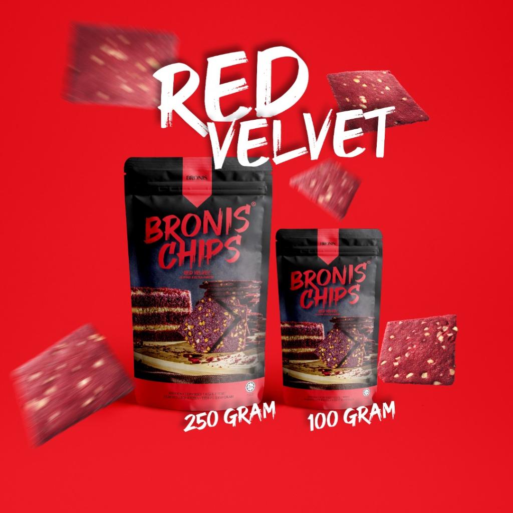 Bronis Chips Red Velvet
