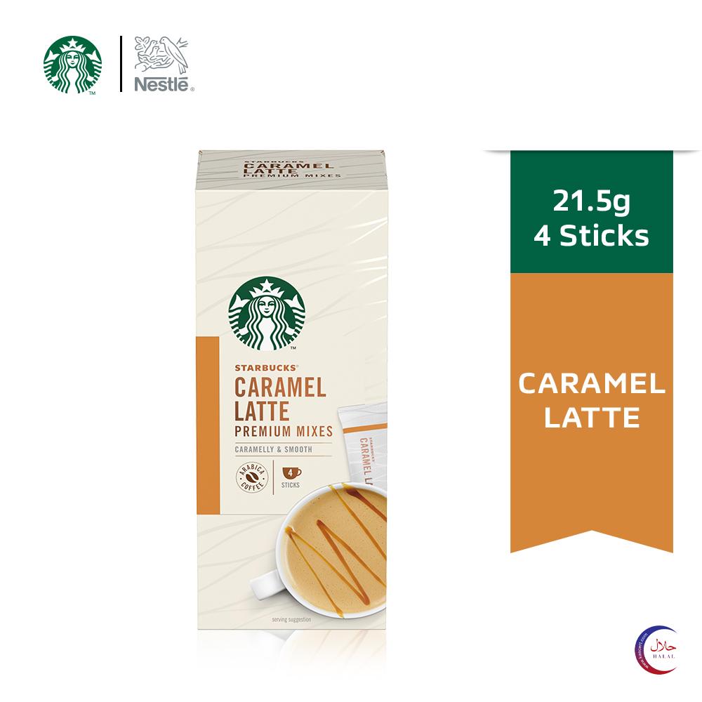STARBUCKS Caramel Latte Premium Instant (4x21.5g)