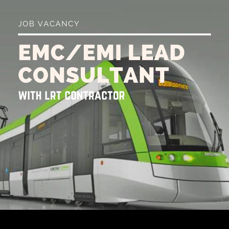 RM50K EMC / EMI Lead or Consultant Job #0612 (Assignment Basis)