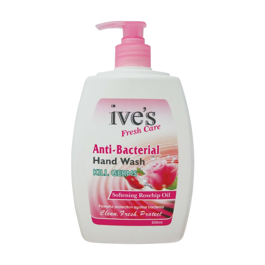 Ive's Fresh Care Anti-Bacterial Hand Wash Softening Rosehip Oil (500ml)