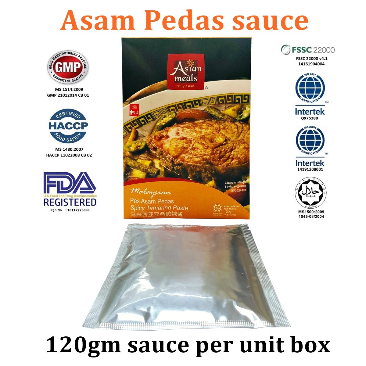 AsianMeals® Asam Pedas sauce 120gm