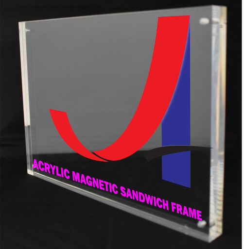 A5 Clear Acrylic Magnetic Sandwich Frame (12mm+12mm)