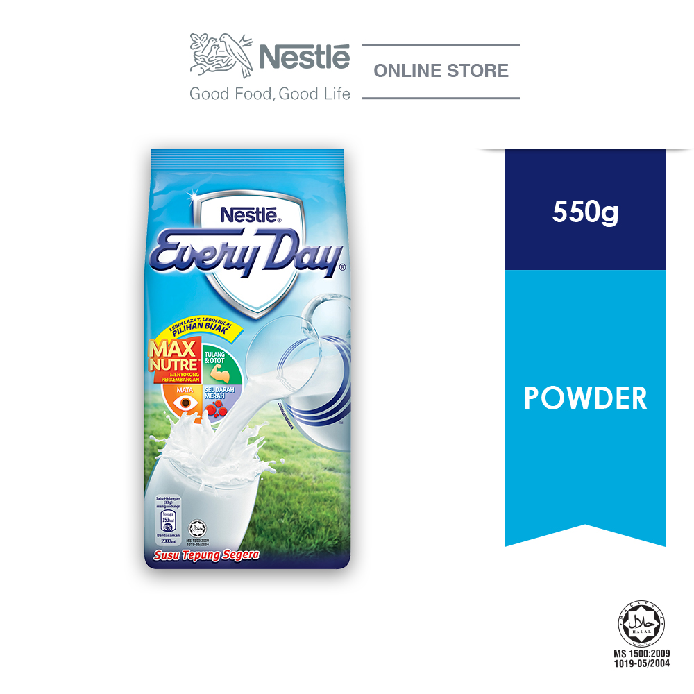NESTLE EVERYDAY Milk Powder Softpack (550g)