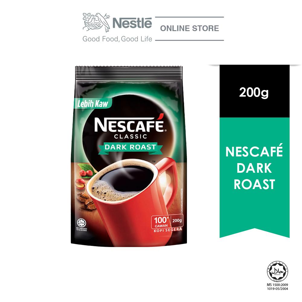 NESCAFE CLASSIC Dark Roast Refill Pack 200g