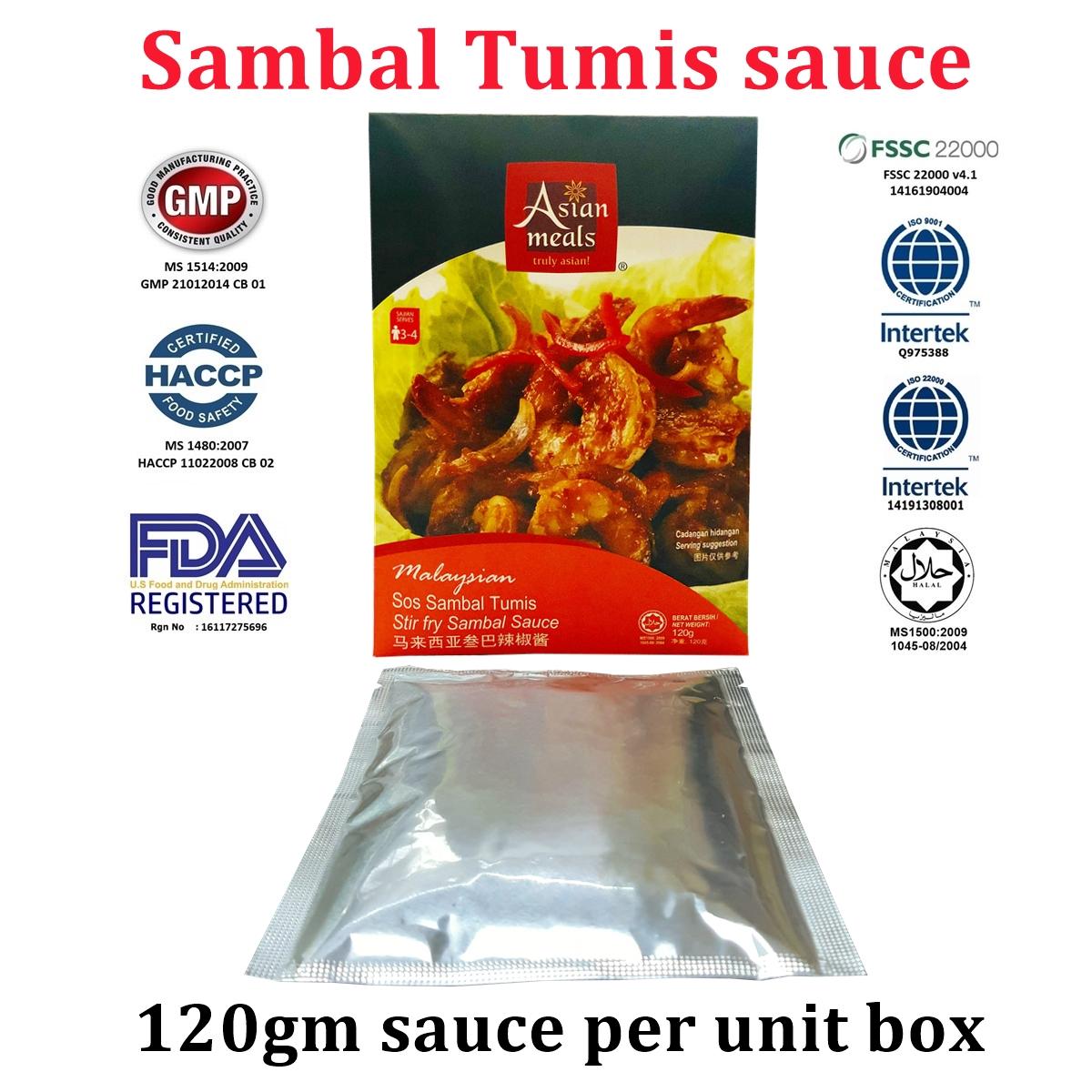 AsianMeals® Sambal Tumis sauce 120gm