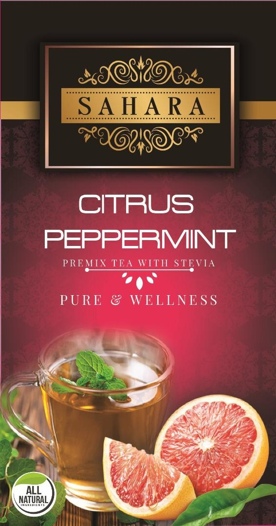 Citrus peppermint tea (10 sachets per box x 3 grams)