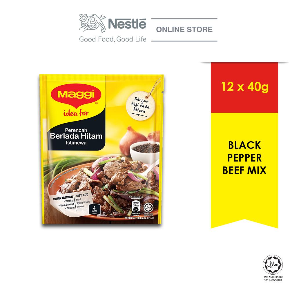 MAGGI Black Pepper Seasoning (1 Pack of 40g)