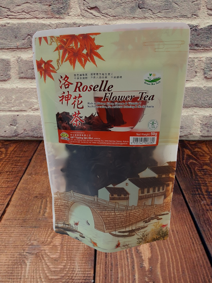 Roselle Flower Tea No Preservative No Artificial Coloring 50g