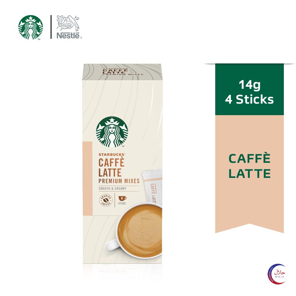 STARBUCKS Latte  Premium Instant (4x14g)