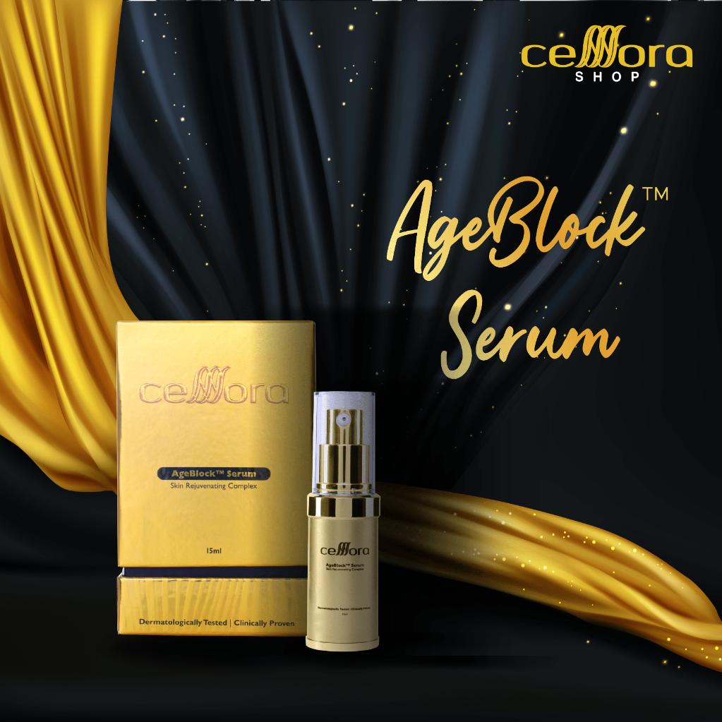Celllora Gold Series AgeBlock™️ Serum