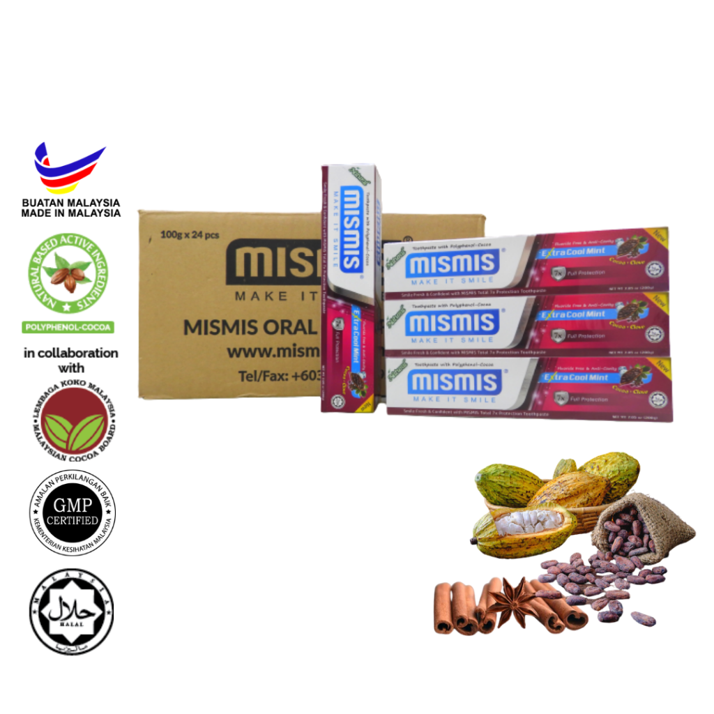 Wholesale - Mismis Extra Cool Mint Natural Toothpaste (200g)