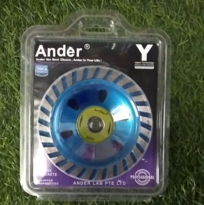 Ander Diamond Blue Cup Wheel 4(3241)