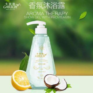 Carich Set Iris Extract Aroma Therapy Shampoo + Provitamin Shower Gel 500ml 卡丽施香氛洗发水+沐浴露