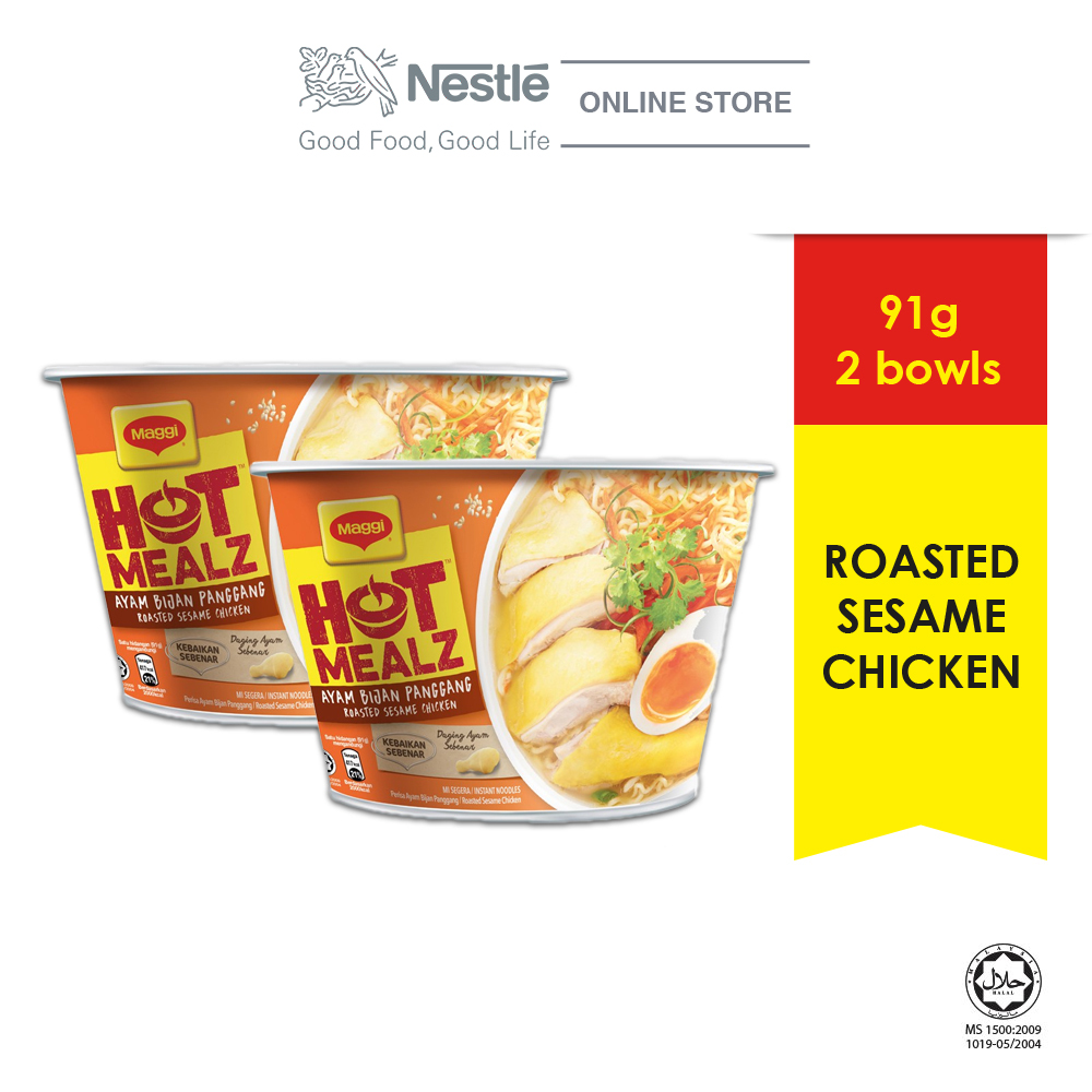 MAGGI Hot Mealz Roasted Sesame Chicken (2 bowls)
