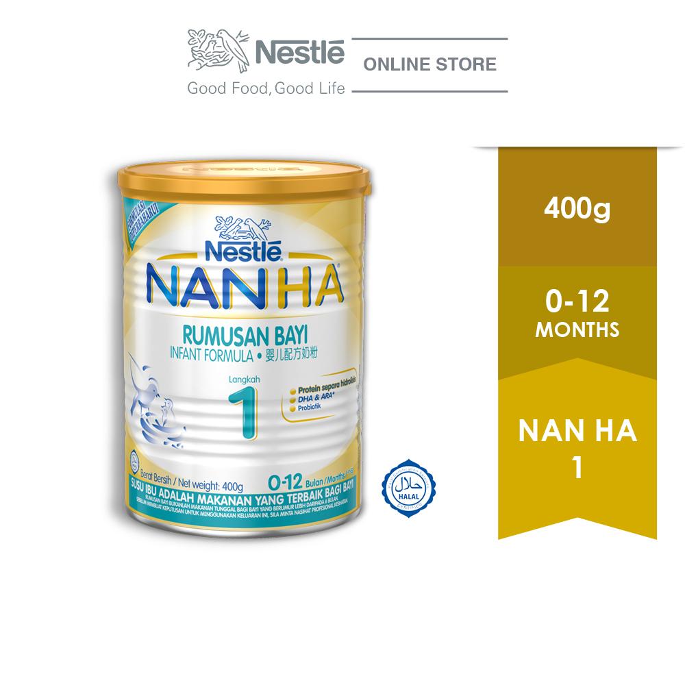 NAN HA 1 Infant Milk Formula Tin 400g ExpDate:JUL20