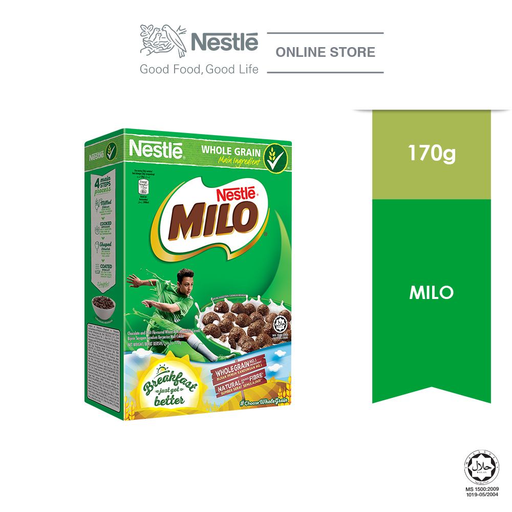NESTLE MILO Breakfast Cereal  Medium 170g