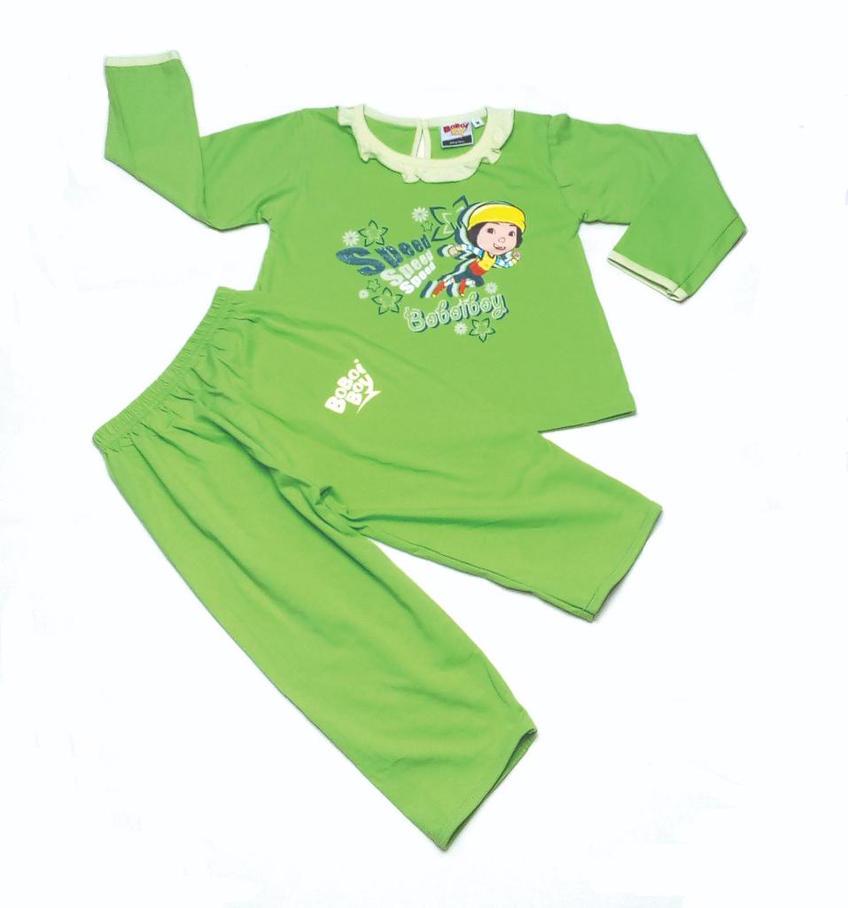 Original BoBoiBoy Ying Character Girl Pyjamas 100%Cotton (BGJ 120)